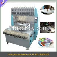 full automatic 12 colors pvc label making machine/pvc dispensing machine