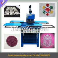 silicone label making machine, garment logo embossing machine