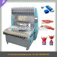 promotional 12 colors pvc usb case making machine/pvc dispensing machine