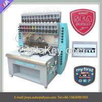 12 colors silicone label making machine/silicon trademark logo brand making machine