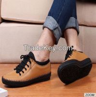2015hot sell leather mens casual shoes