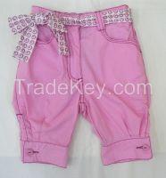 100% cotton twill children shorts