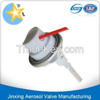 All direction aerosol valve