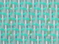 Double layer polyester forming fabric mesh fabric for paper industry