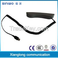 Distinctive mini handset for daily use of telephone