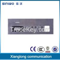 High quality stainless steel keyboard with 12 buttom