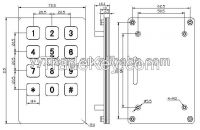 custom-made control panel membrane switch keypad