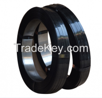 black painted waxy steel strapping coil 16mm*0.5mm