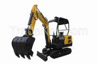 Mini crawler excavator 1.8tons
