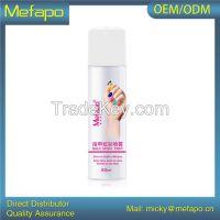 OEM ODM matte spray nail polish gel aluminum can