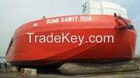 Top Sale Marine Rubber Airbag for Ship Launching and Landing according to ISO14409 1.5m x 18m, 6 layers
