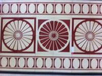 hand-made cement tiles - high quality with factory price exported to EU. Its about 1usd/piece