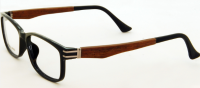 Wood & Horn Temple Optical Frames