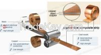 Mill of  the copper clad composite steel coil