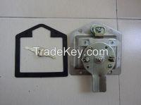 Drop t handle lock