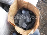 Wood Charcoal from Pine and Eucalyptus Trees from Brazil.