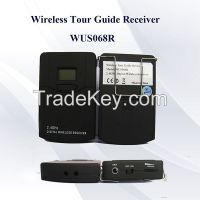 2.4G Audio tour Guide system manufactures for visiting and conference
