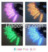 Waterproof Milion Colors Motorcycle LED Lighting Strip Accent Kit