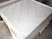 PVC gypsum ceiling tiles with high quality
