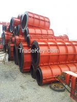 Africa roller suspension type precast drain pipe Machinery