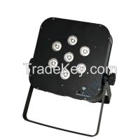 7*10w 4in1 RGBW Wireless Battery LED Par Lighting Club Lighting