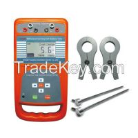 Multifunction Dual-Clamp Earth Resistance Tester