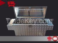 Huge capacity underbody tool box for truck