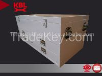 2 drawers Stainless Steel Tool Box/Cabinet with lid (BKAT1219SQ)