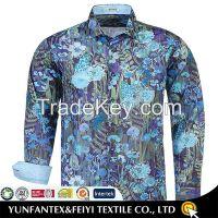 2015 latest cotton super cotton long sleeve formal dress shirt design for men