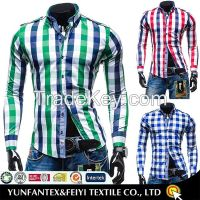 2015 latest cotton super cotton long sleeve fashion casual shirt for men