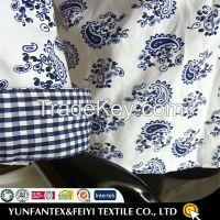 Casual cotton white printed shirt