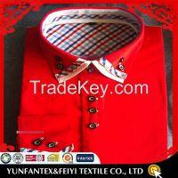 2015 latest cotton super cotton long sleeve  business cheapest cotton poplin men casual shirt