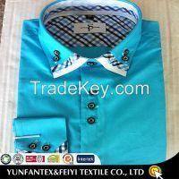 2015 latest cotton super cotton long sleeve business cheapest cotton poplin men fashion casual shirt for men