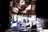 Vintage Turkish Handmade Patchwork Kilim Rugs
