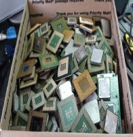 Ceramic CPU Gold Scraps (Intel 386/486) Pentium Pro CPU Ceramic Processor Scrap