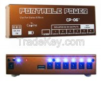 Caline Portarble Power Supply for guitar effect pedal CP-06+