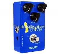 "Caline ""Blue Ocean"" Delay Guitar Effect Pedal CP-19"