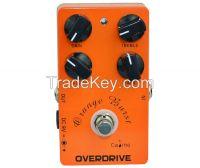 "Caline ""Orange Burst"" Overdrive Guitar Effect Pedal CP-18"