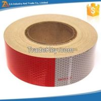 DOT-C2 2' X 10' Trailer Conspicuity DOT Reflective Red/White Tape
