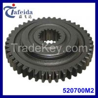 Tractor Gear for Massey Ferguson, MF Agricultural Tractor Parts, Transmission Components, 520700M2, 44T, Low Speed Transmission Gear