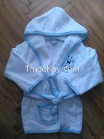 Baby bathrobe set or separate