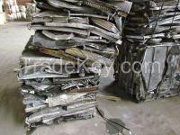 Used aluminum copper radiator scrap