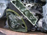 used Aluminium engine block scrap