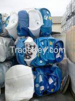 USED HDPE drum scrap