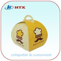 Custom Printed Folding Packing Box for Birthday Cake or Dessert