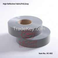 100%Polyester High Reflective Fabric With EN20471