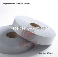 Silver High Reflective Fabric for Safety Garments