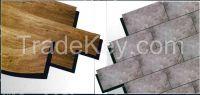 Vinylflooring tile shape - 5mm thick - selfadhesive system  - 5,50�/sqm