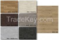 Vinylflooring tile shape - 5mm thick - selfadhesive system  - 5,50 /sqm