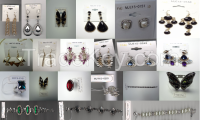 imitation and fashion earrings, bracelete, ring